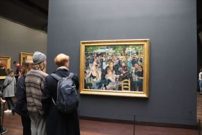 ルノワール「ムーラン・ド・ラ・ギャレットの舞踏会」
