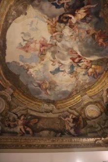素晴らしい天井画