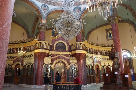 聖ゲオルギウス教会内部