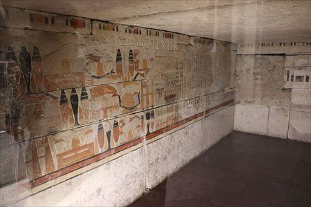 壁画の展示