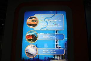 従来の鉄道の紹介のようです。中央線?と300系新幹線。どちらもちょっと古いですよね