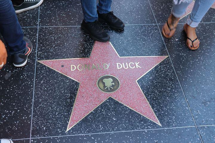 ハリウッドといえば「ウォーク・オブ・フェーム」