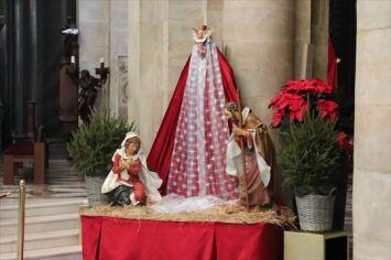 プレゼピオ。まだクリスマス前ですからキリストは置かれていません