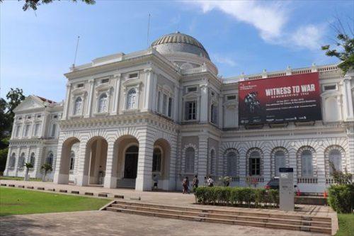 植民地風の建物の国立博物館