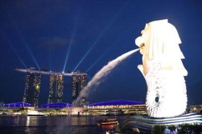 ということで二つのシンガポールのシンボル