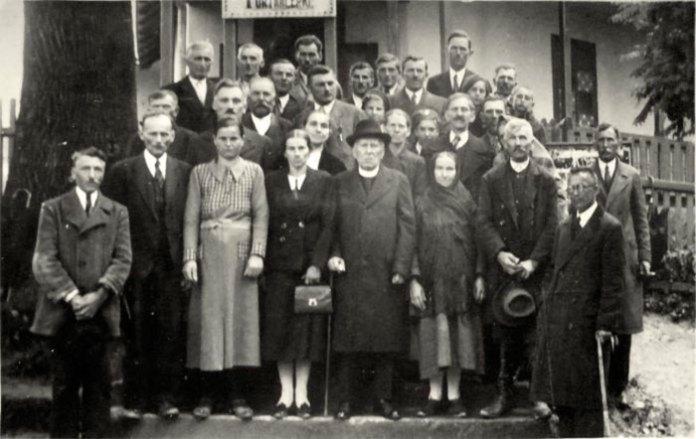 Відвідини Трускавця О. Пристаєм, 1938 р.