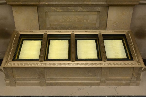 Founding Documents In Rotunda Charters Of