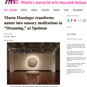 "Review: Maren Hassinger transforms nature into sensory meditations in ""Dreaming,"" at Spelman"