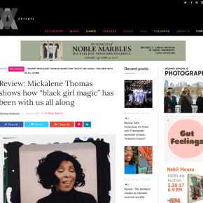 "ArtsATL Review: Mickalene Thomas shows how ""black girl magic"" has been with us all along"