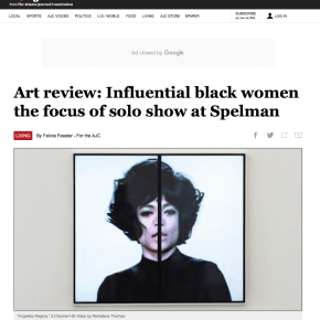 AJC Review: Art review: Influential black women the focus of solo show at Spelman