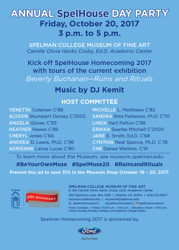 Museum Day Party
