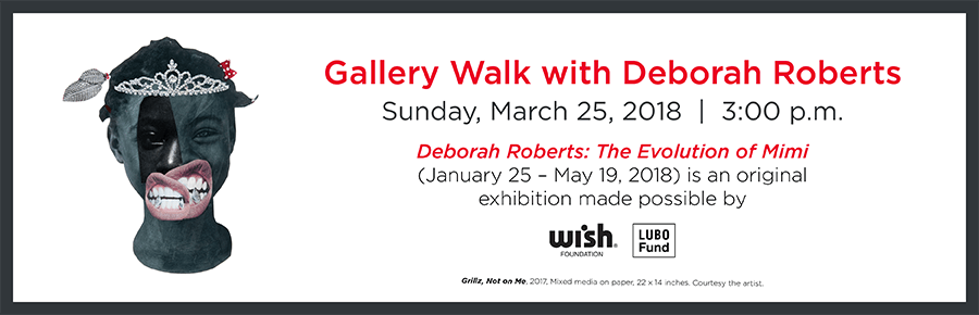 Gallery Walk with Deborah Roberts