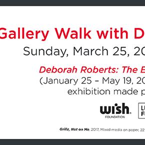 Gallery Walk with Deborah Roberts