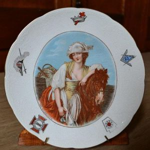 Milkmaiden Commemorative Plate