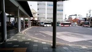 石山駅バス乗り場