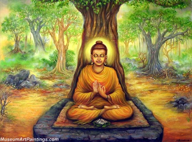 Handmade Buddha Paintings For Sale