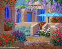 Flower Garden Paintings   www.pixshark.com - Images ...