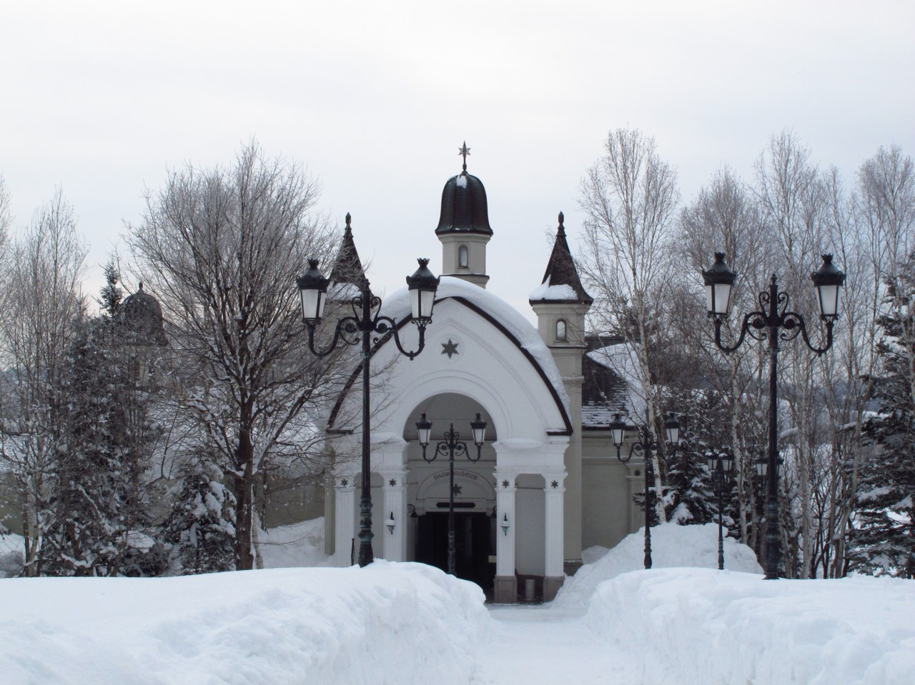 Snow Art Museum Backpacker