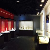 museum display cabinets for China Folklore Museum