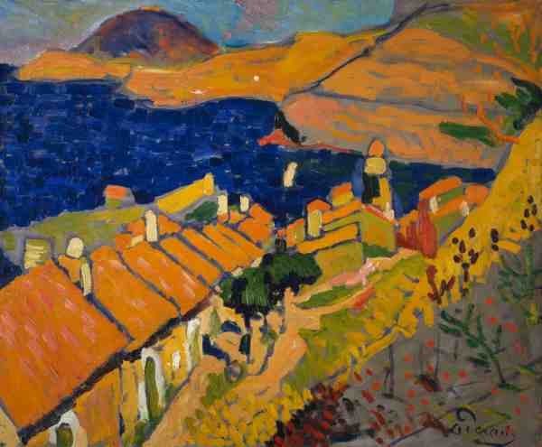 Andre Derain Fauvism Paintings