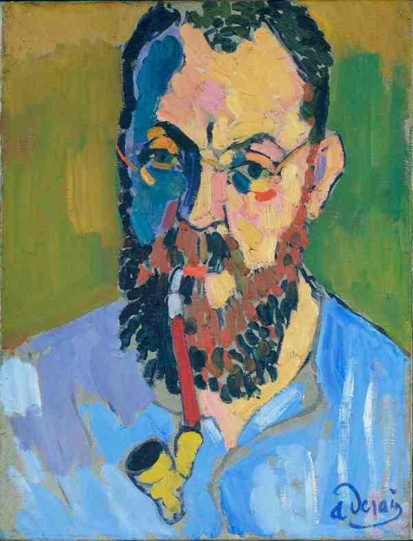 Portrait of Andre Derain by Henri Matisse