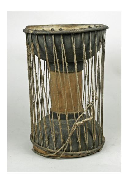 Drum, 20th Century, Akan, Ghana
