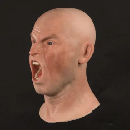 MSH833 Male silicone head - three-quarter view