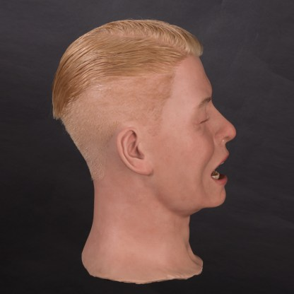 MSH854 Male silicone head - side view
