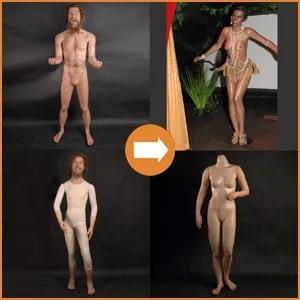 Silicone bodies