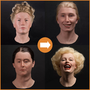 Female silicone heads