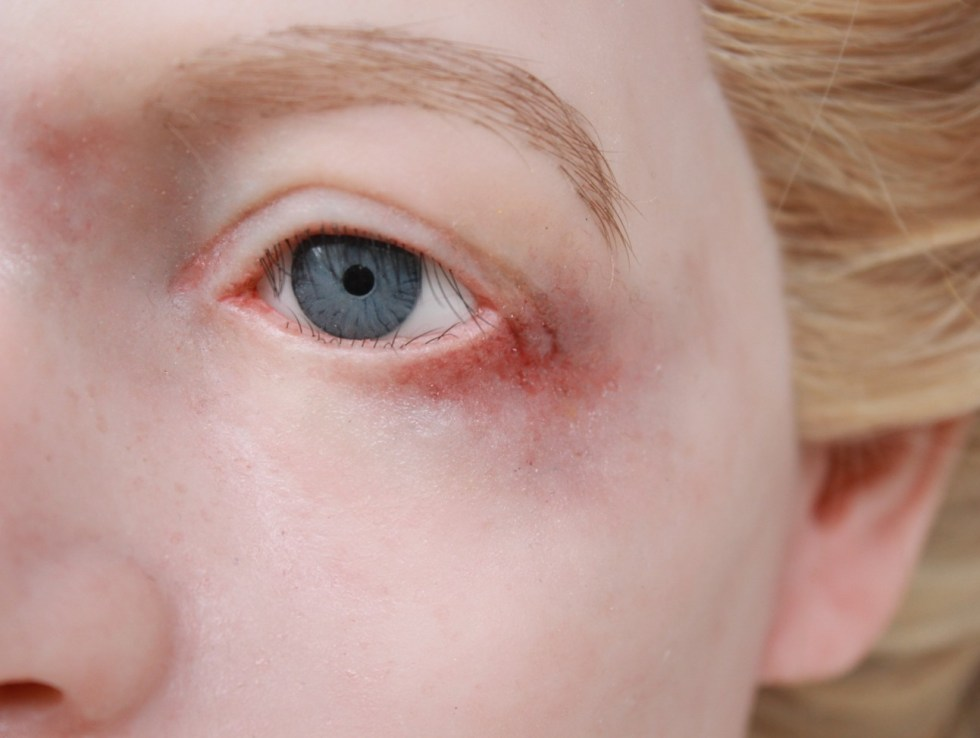 Battered woman silicone display head