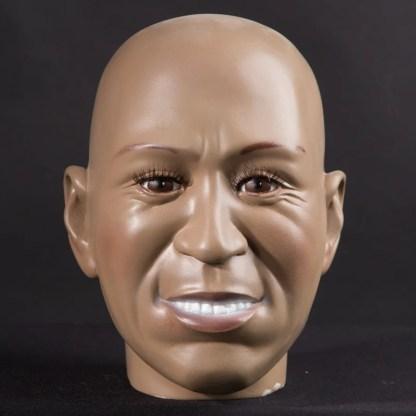 African display mannequin head
