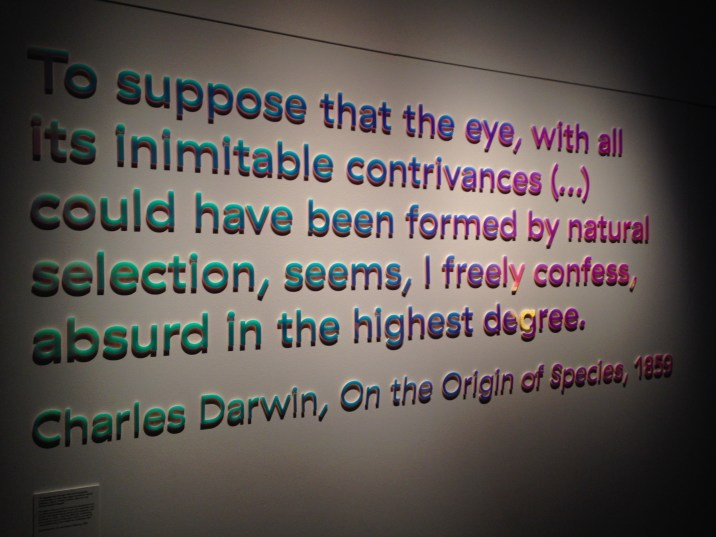 darwin-on-eyes-at-colour-and-vision-natural-history-museum
