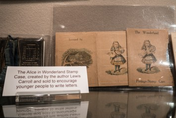 Bath Postal Museum Alice in Wonderland
