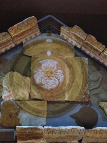 Roman Bath Temple Fascade