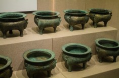 Baoji Bronzeware Museum pots