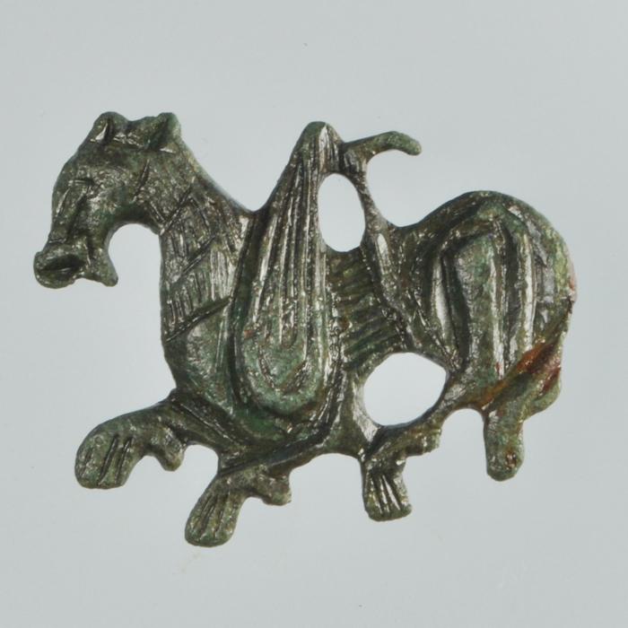 hesteformede spænde (fibel)