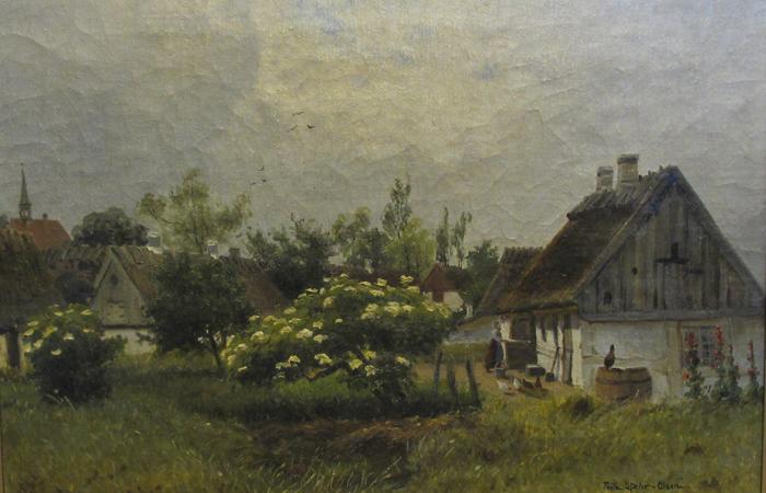 bebyggelsen nord for Østergade, Gilleleje