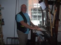 Dave - Hand Loom Weaver