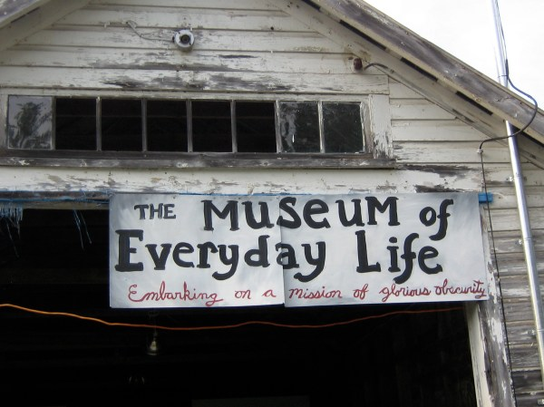 Front Sign Museum Of Day Life