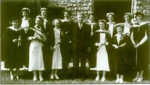 Queen's School of Nursing Graduates Class of 1951.  MHC Collection