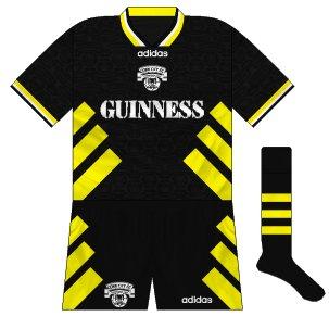 1993-96 Cork City away