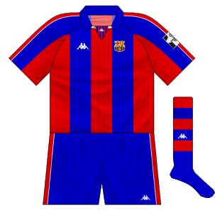 premium selection e00fc 6044a Barcelona: the Kappa years – Museum of Jerseys