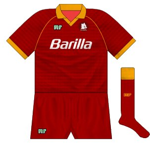 1990-91 Roma home