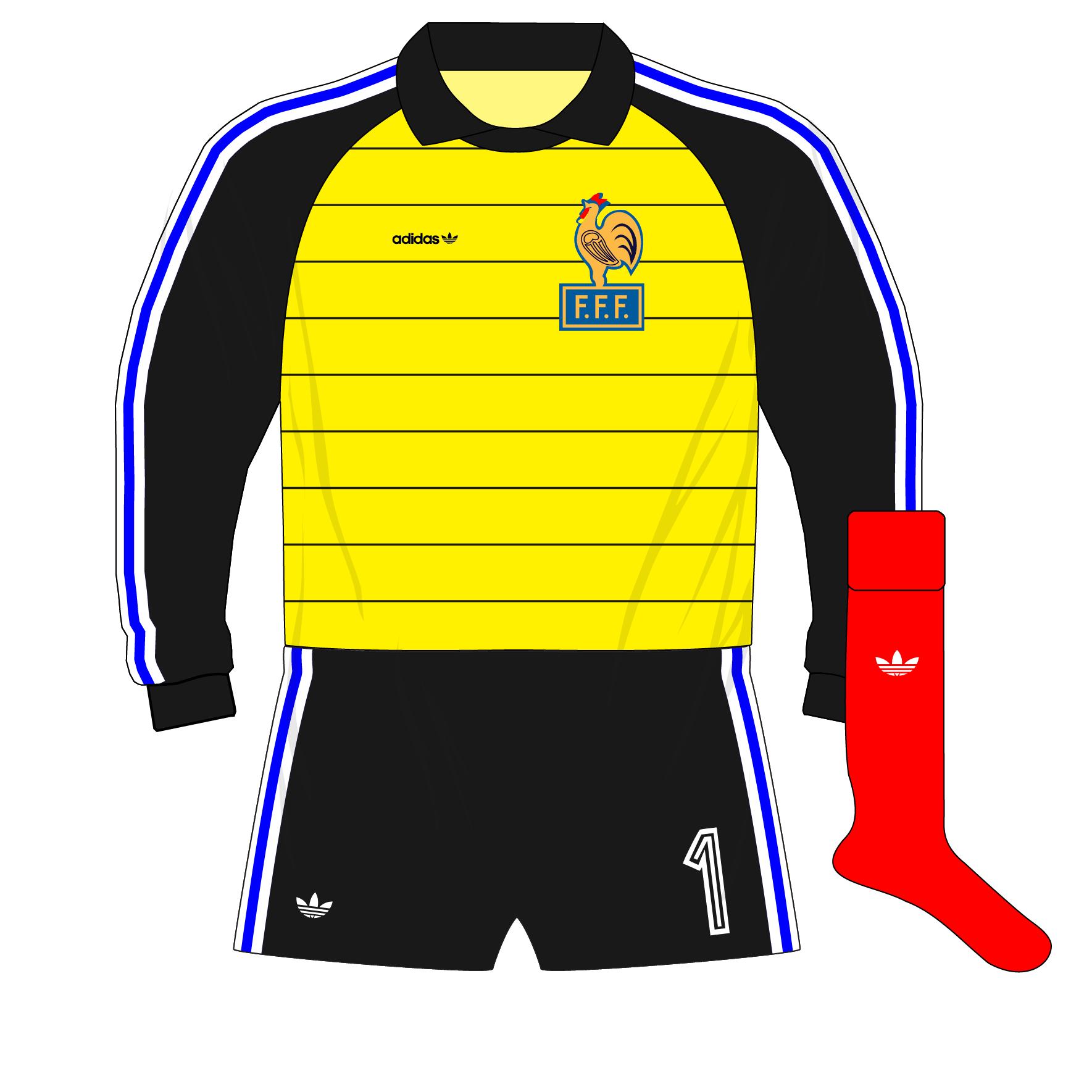 huge discount ed484 44c02 The evolution of adidas goalkeeper shirt designs – Part 2 ...