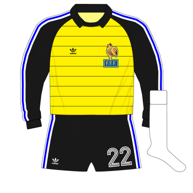 adidas-France-yellow-goalkeeper-gardien-shirt-maillot-1982-Ettori