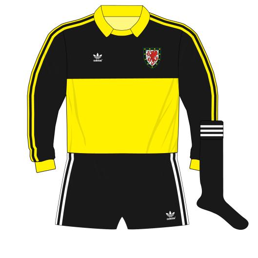 adidas-Wales-yellow-goalkeeper-shirt-jersey-1980-Southall