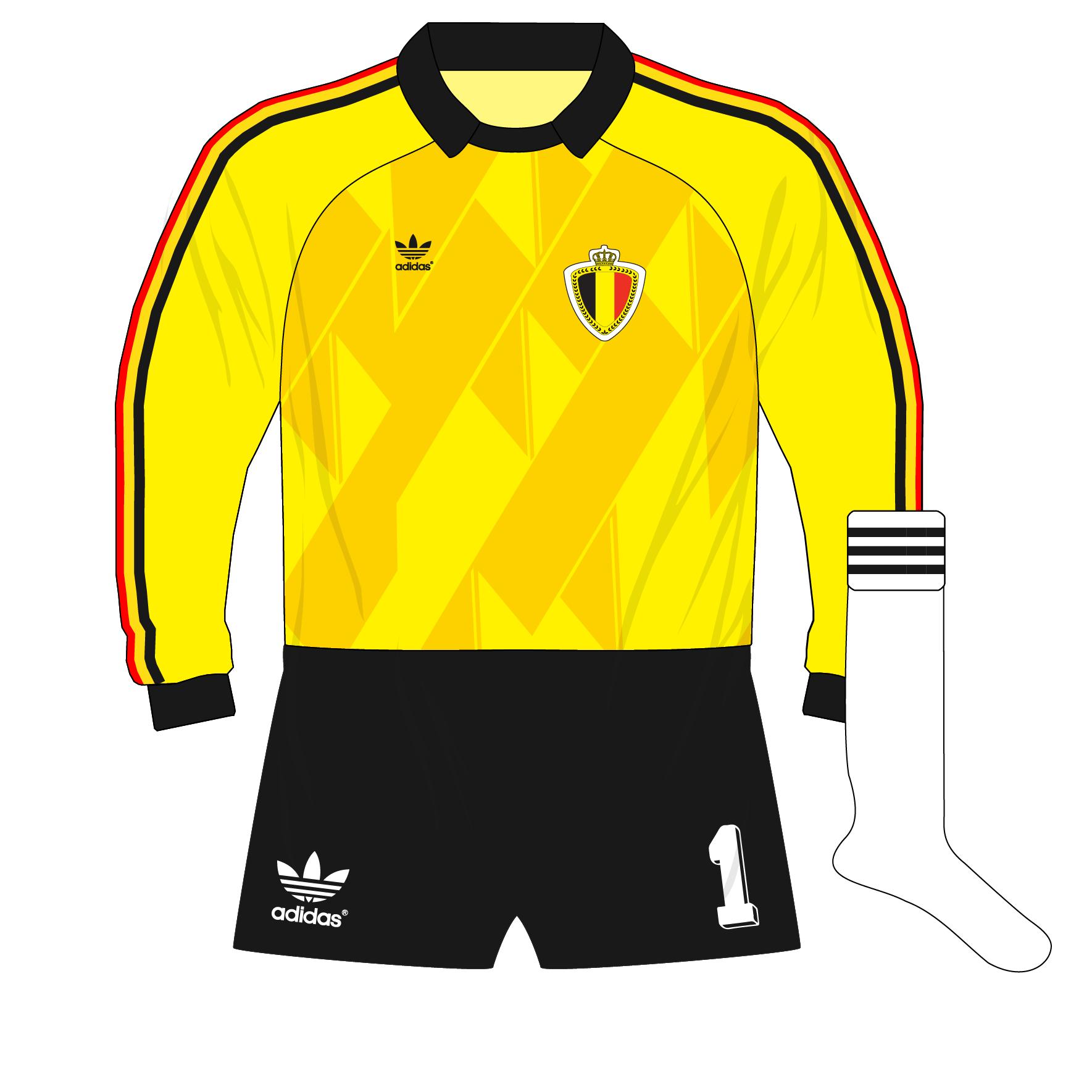 The evolution of adidas goalkeeper shirt designs – Part 4 – Museum of  Jerseys 1a2261991