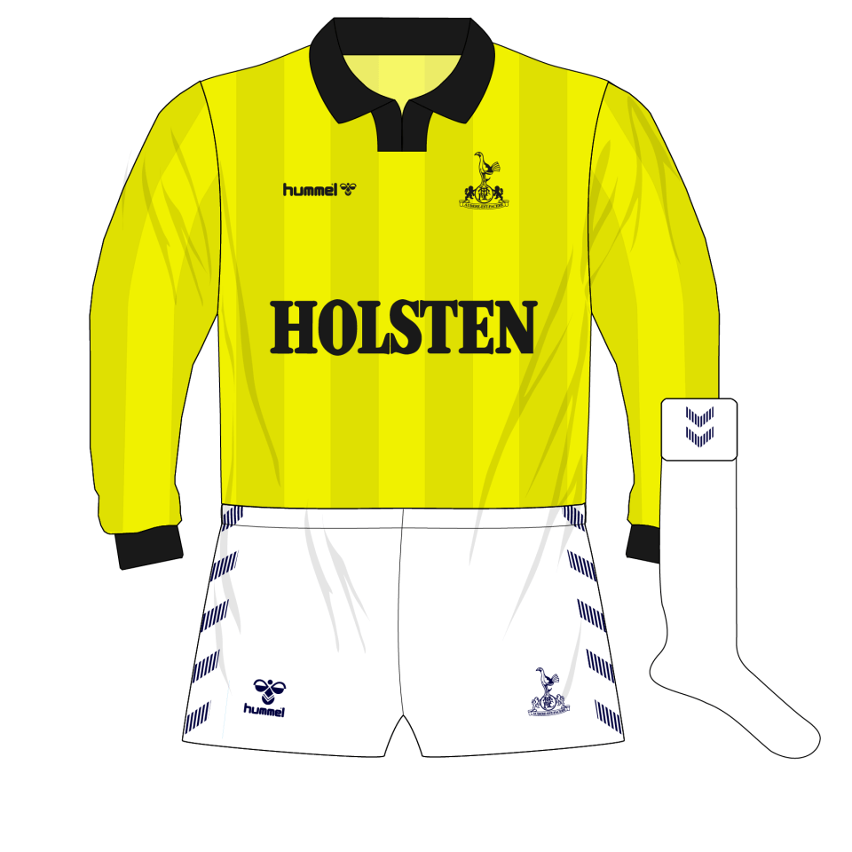 b803d767056 tottenham-hotspur-spurs-hummel-1985-1986-yellow-goalkeeper-kit ...