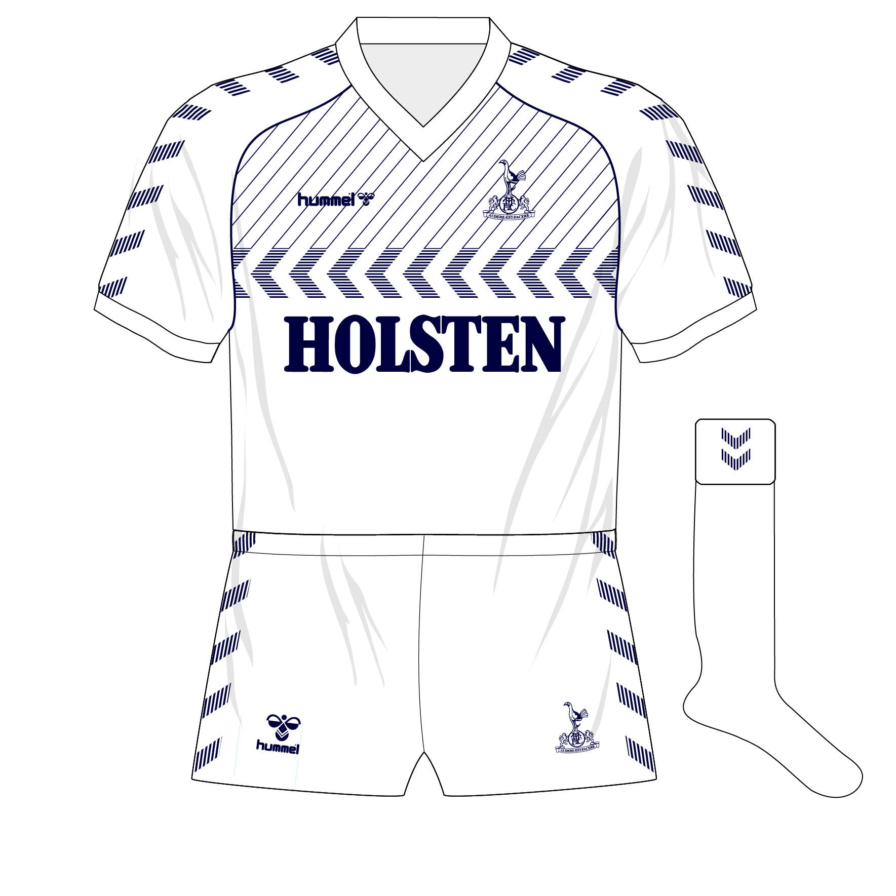 3daf885df4a Tottenham Hotspur  the Hummel years – Museum of Jerseys